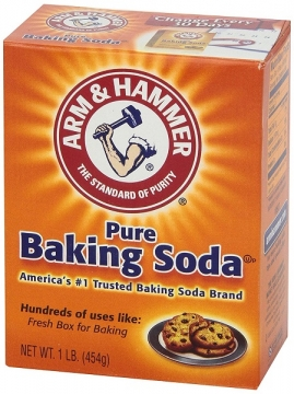 Baking soda for smoke odor