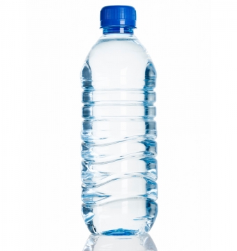 Bottle of alkaline water