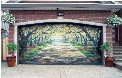 Garage Doors with Unique Designs Picture