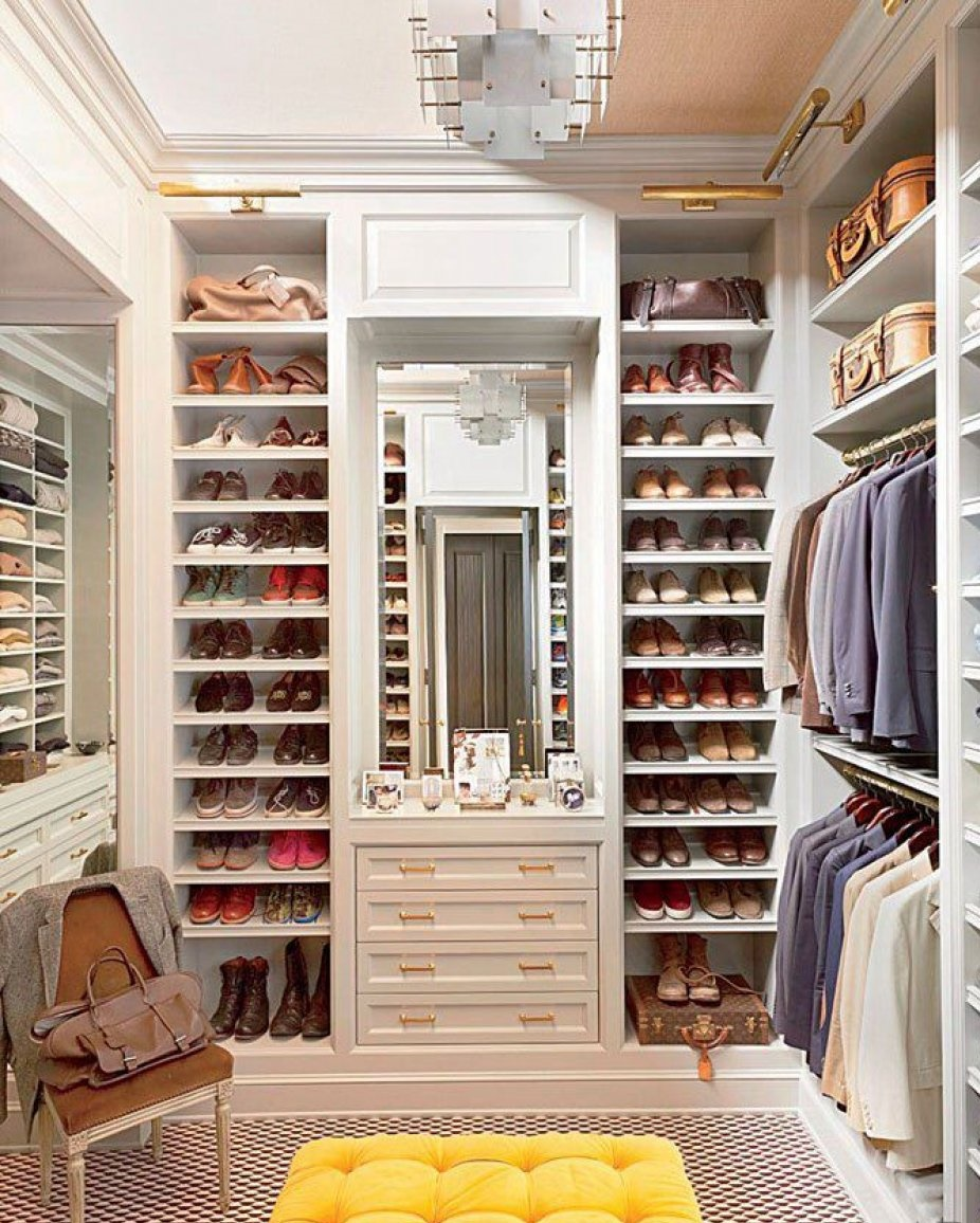 How to make a dressing room with your own hands 31