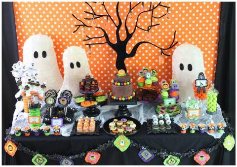 Indoor Halloween Decorating Ideas Picture