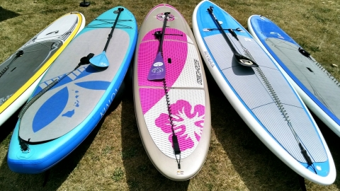 The Key Factor in Choosing Your First SUP - Stability Picture