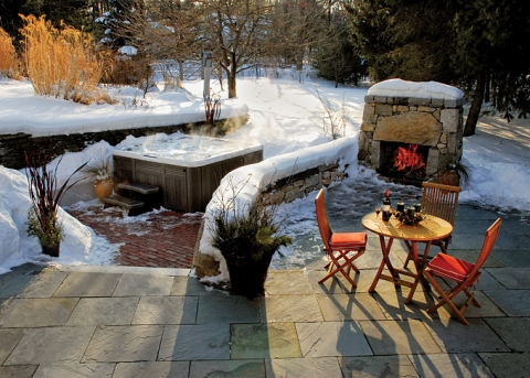 Clear Your Patio During Winter with Deicing Salt Picture