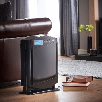 Air purifier cleaning the air