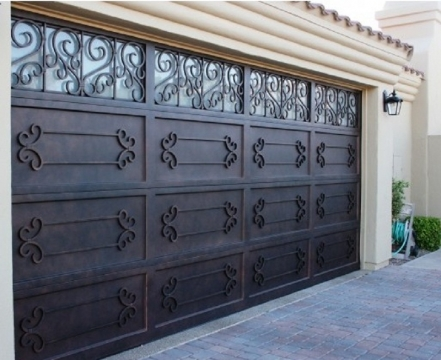 Garage Doors with Unique Designs Picture