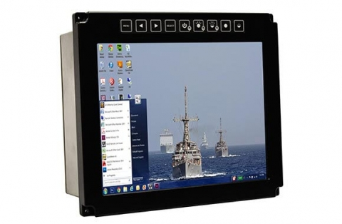 Rugged Panel Mount Network Computers Monitors