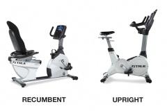 Which Burns More Calories Recumbent Bike vs Upright Bike Picture