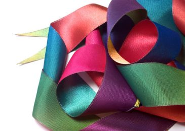 Decorating Gardens with Fantastic Ribbons